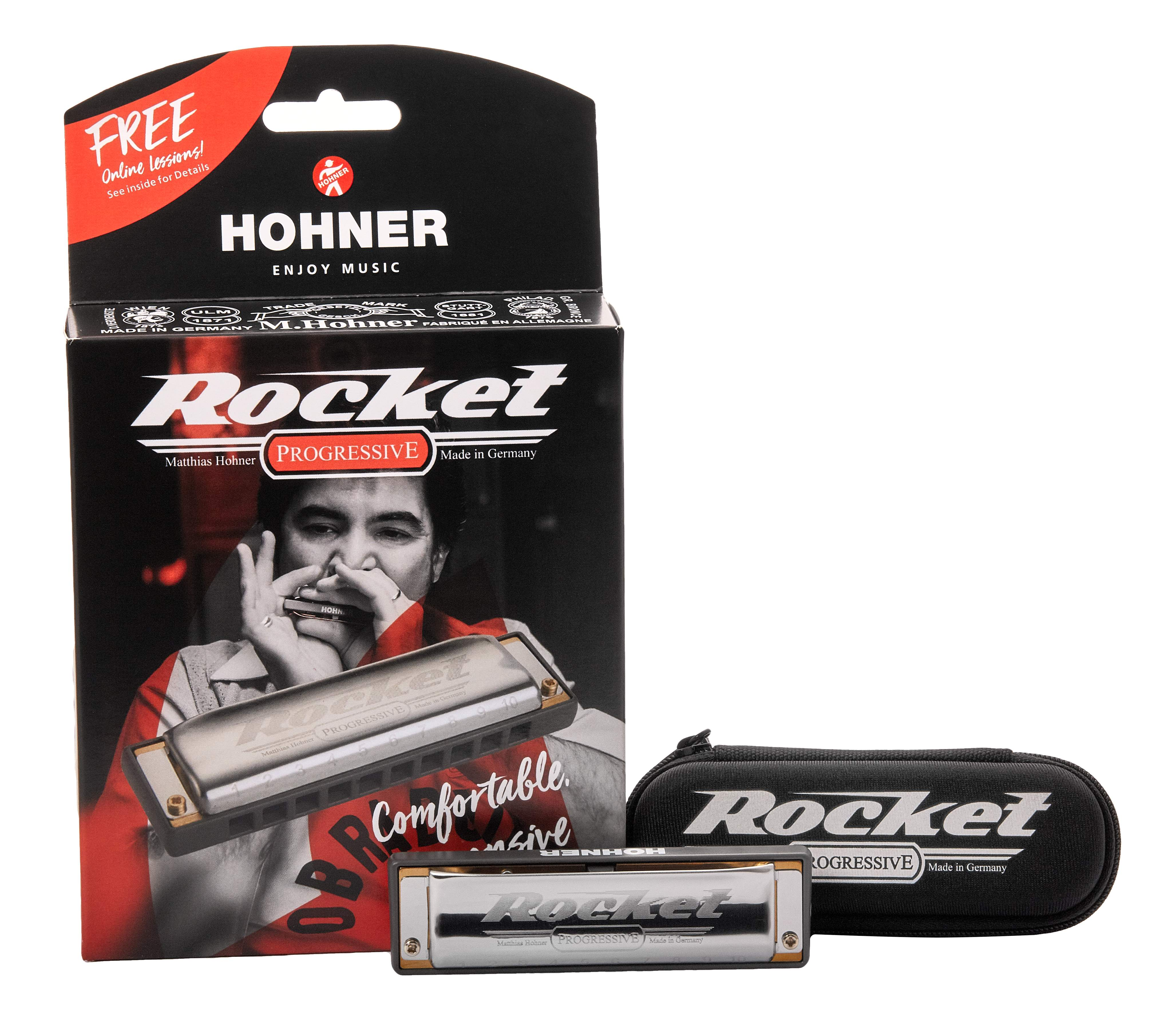 Hohner Rocket G-major foukací harmonika