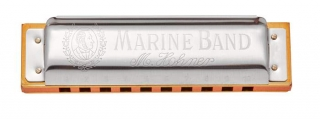 Hohner Marine Band 1896 F moll natural minor foukací harmonika
