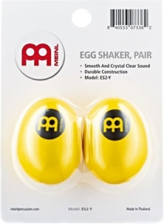 Meinl ES2-Yellow Plastic Egg Shakers