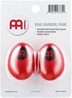 Meinl ES2-Red Plastic Egg Shakers